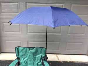 Clamp on umbrella for outdoor chair for Sale in Neffsville, PA