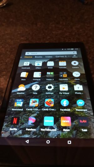 Amazon fire tablet 8 inch tablet built-in Alexa for Sale in Cleveland, OH