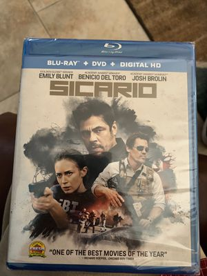 Sicario blu ray for Sale in Chandler, AZ