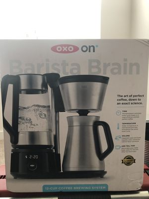 Brand new OXO On Barista Brain 12-Cup Coffee Maker for Sale in Rockville, MD