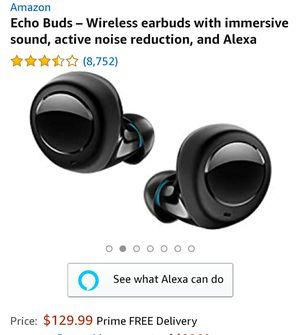 Echo Buds, wireless Bluetooth Ear Buds for Sale in Stockton, CA