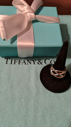Tiffany Silver Celtic Knot Weave Ring for Sale in McKeesport, PA