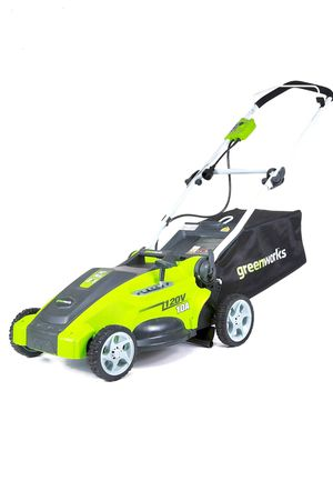 Greenworks 16-Inch 10 Amp Corded Electric Lawn Mower Corded New One week return guarantee for Sale in Virginia Beach, VA