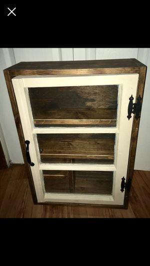 Antique wall cabinet for Sale in Joplin, MO