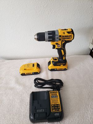 Dewalt variable speed hammer drill.Everything is new.Come with ised Dewalt drill driver.Not shown in the picture. for Sale in Tampa, FL
