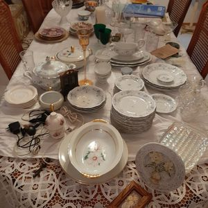 Assorted dishes, Cups , display Items for Sale in Mokena, IL