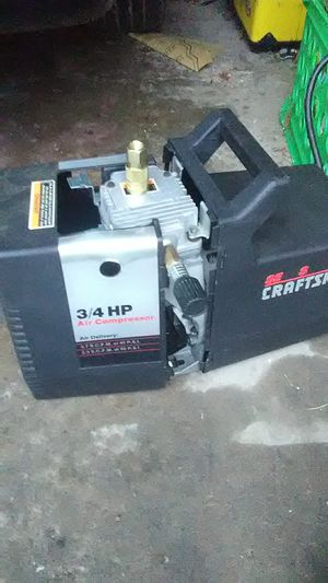 Craftsman 3/4 hp air compressor for Sale in West Mifflin, PA