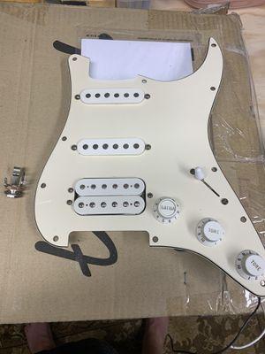 2003 Fender American Standard HSS loaded pick-guard Cream. for Sale in Lombard, IL