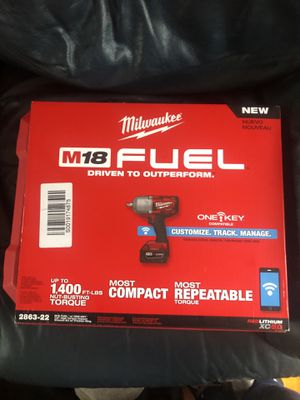 Milwaukee impact BRAND NEW NEVER USED for Sale in Vaucluse, SC