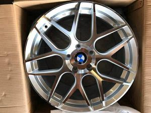 """Bmw euro style 18"""" new rims tires set for Sale in Hayward, CA"""