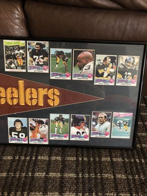 Steelers Collection penate and cards for Sale in Glendale, AZ