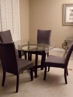 Dining Set With Table. $ 170 And 4 Chairs $30 All For $ 200 for Sale in San Dimas,  CA