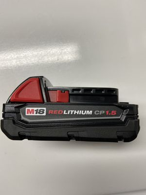 New Milwaukee cp 1.5 Ah battery. for Sale in Chicago, IL