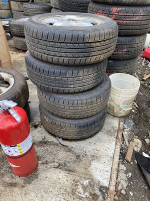 4 tires 205/65/15 for Sale in Waterbury, CT