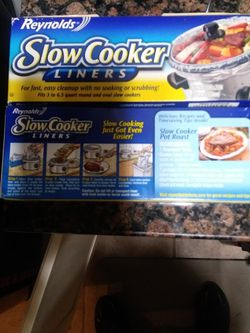 Slow Cooker Liners for Sale in Covina,  CA