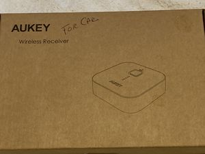 Aukey Wireless Bluetooth Receiver for Sale in Florissant, MO