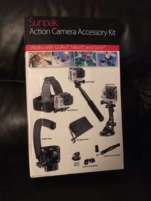 GoPro, Nikon, Sony Action Camera Accessory Kit for Sale in San Diego, CA
