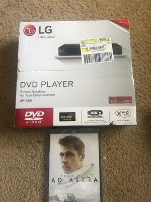 Lg DVD player plus movie 🍿 for Sale in Aurora, CO