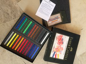 Faber-Castell Polychromos Pastel Crayon: 24 Pieces for Sale in Redwood City, CA