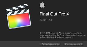 Final Cut pro x 10.4 full version + plugins for Sale in Santa Margarita, CA