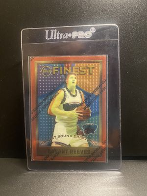 "Bryant ""Big Country Reeves"" Rookie Card 96 Topps Finest Mint for Sale in San Antonio, TX"