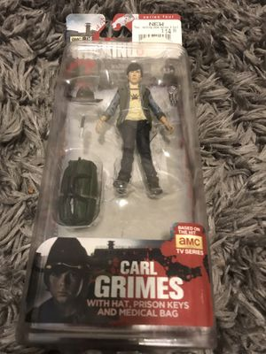 The walking dead Carl action figure OFFICIAL for Sale in Seattle, WA