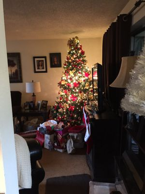 Free. 7 ft. Christmas Tree with Lights. for Sale in West Linn, OR
