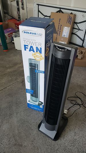 Soleus Air Tower Fan for Sale in Puyallup, WA