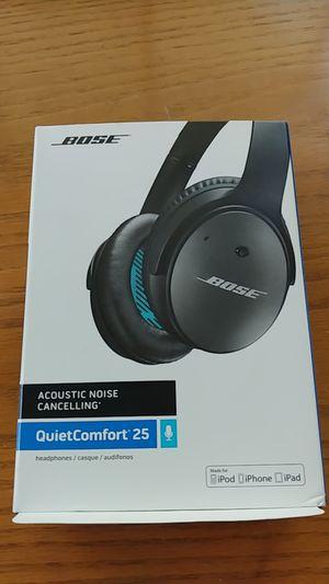 Bose QuietComfort 25. ( Open box.like new) for Sale in Buffalo Grove, IL