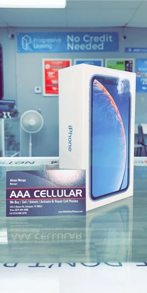 Verizon iPhone XR - Brand New in Box with 1 year warranty for Sale in Arlington, TX