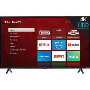 "TCL 55S425 Roku 55"" 4k TV w/ HDR & 120hz for Sale in Phoenix, AZ"