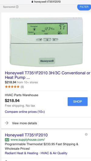 Honeywell commercial thermostat for Sale in Waltham, MA