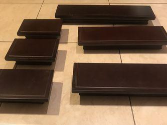 6 Piece Shelf Set for Sale in St. Petersburg,  FL