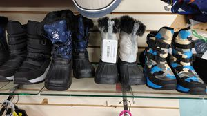 Boys shoes $7.99 snow boots $7.99 for Sale in Phoenix, AZ