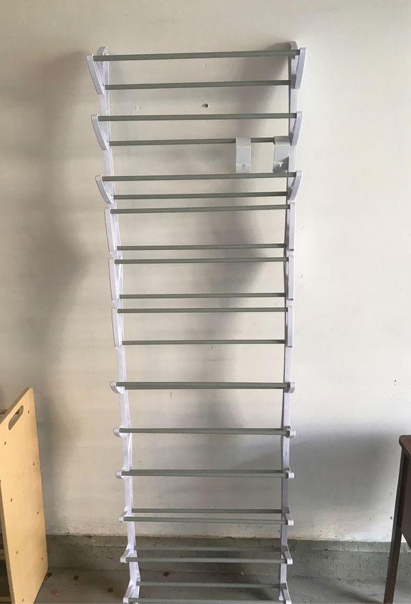 Free over the door shoe rack