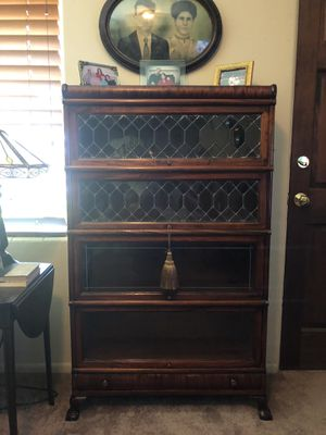 PRICE REDUCED! ANTIQUE MACEY FOUR STACK BARRISTER BOOKCASE IN EXCELLENT CONDITION for Sale in NEW PRT RCHY, FL