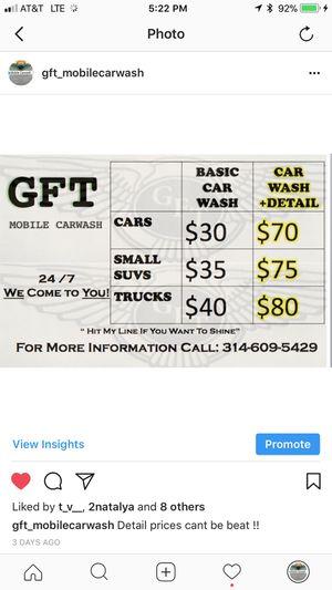 Mobile carwash for Sale in Atlanta, GA