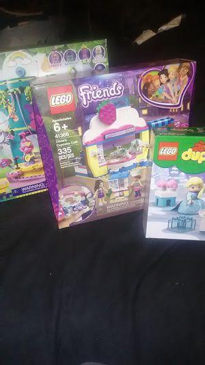 LEGO'S TROLLS, FRIENDS, FROZEN for Sale in Fresno, CA