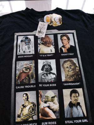 Disney star wars shirt NWT for Sale in Newport News, VA