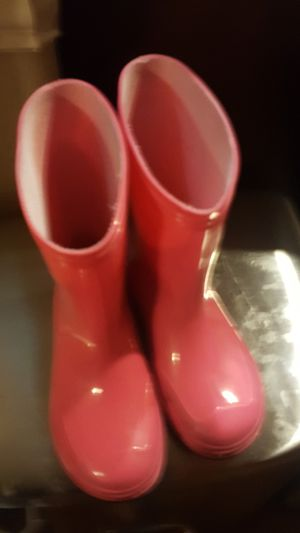 Rain boots kids 11 for Sale in Burleson, TX