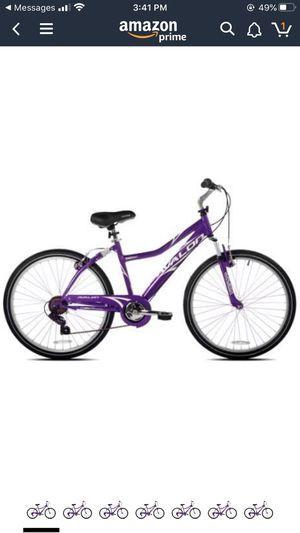 "SupremeSaver Next Avalon 26"" Comfort Bike Full Suspension Women's Dual Suspension Steel Purple New for Sale in Kissimmee, FL"