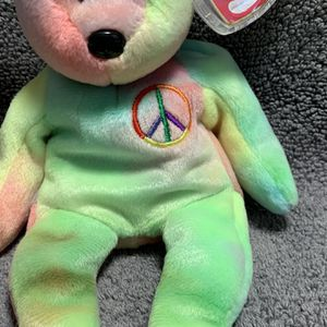 Peace Bear (115) Beanie Baby Retired for Sale in Chattanooga, TN