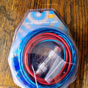 10 Guage Installation Cables 600W Amp Kit Amplifier Wires for Sale in San Bernardino, CA