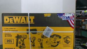 DeWalt 5 Tool combo kit brand new in box for Sale in Fort Lauderdale, FL