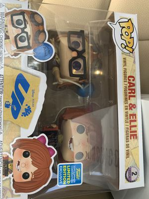 Funko Pop Carl and Ellie 2 Pack Disney Up SDCC Exclusive for Sale in Fort Lauderdale, FL