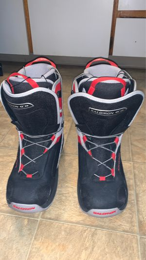 Salomon Dialogue Men's size 10 snowboarding boots for Sale in Lakewood, CO