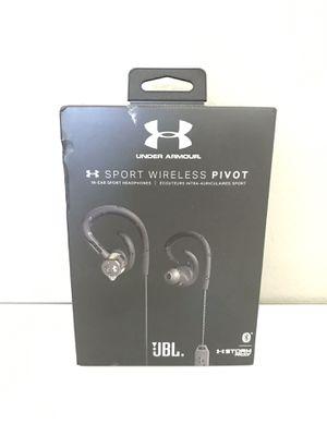Under Armor Pivot Wireless Sport In-Ear Headphones Black for Sale in Littleton, CO