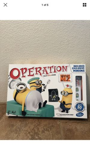 Operation Dispicable Me Board Game for Sale in San Jose, CA