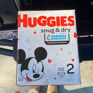 Huggies Size 2 Diapers for Sale in San Clemente, CA