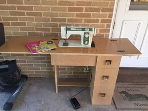 Brother Sewing Machine in Cabinet for Sale in PA, US